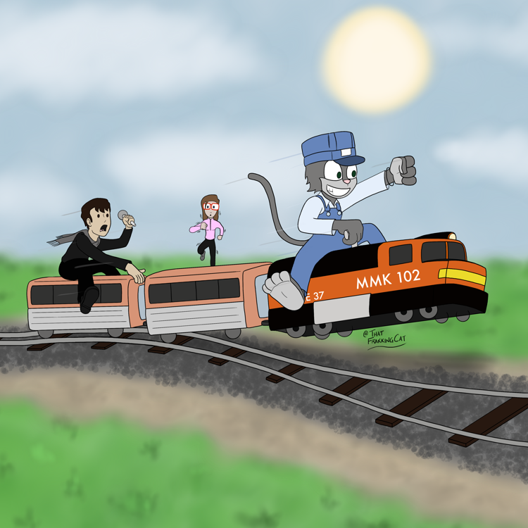 Dave takes the podcast train off the tracks