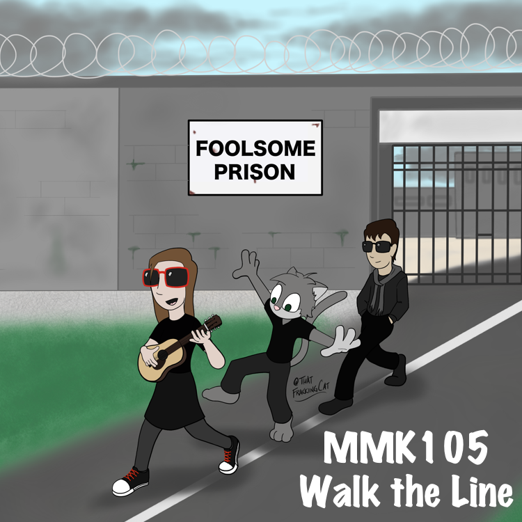 The gang struts their stuff as they leave Foolsome Prison. You will never find more retched hive of dumb and doofery. We must be cautious.