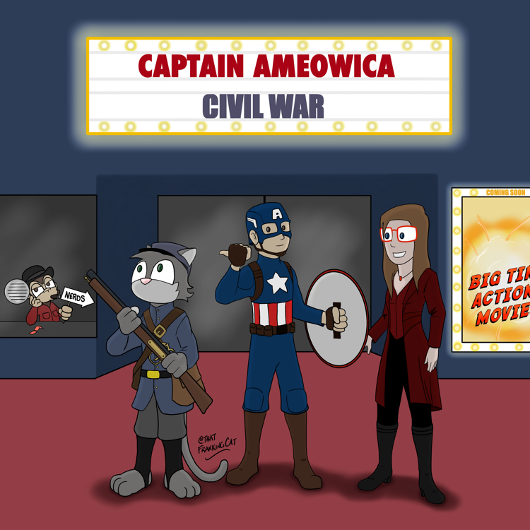 Captain Ameowica: Civil War