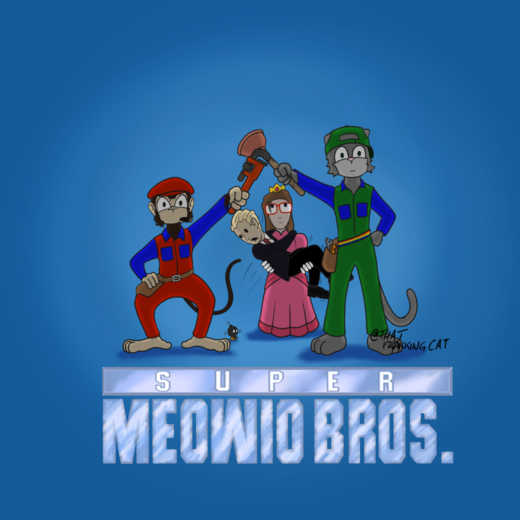 Super Meowio Bros